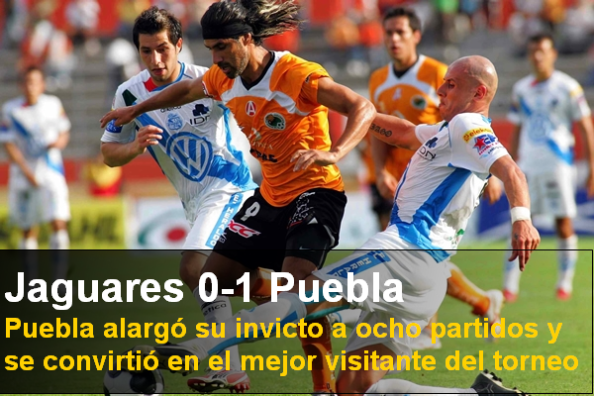 Jaguares 0-1 Puebla